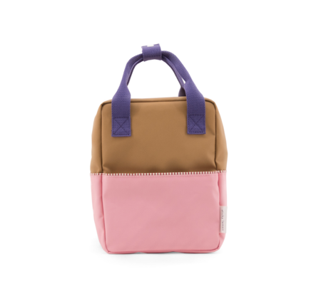 kids Sticky Lemon Color Block Backpack - Pink