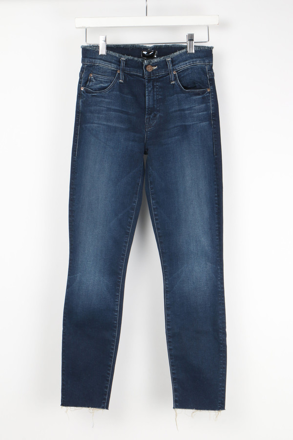 Mother Denim Double Fray Charmer