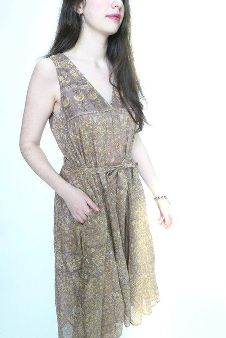 Nani Pani Oona Peasant Dress - Natural
