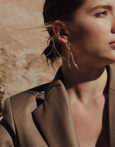 Cled Rope Earrings