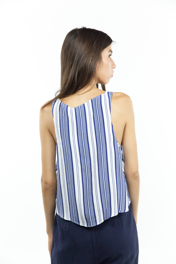 L'Academie Swing Tank - Sailor Stripe