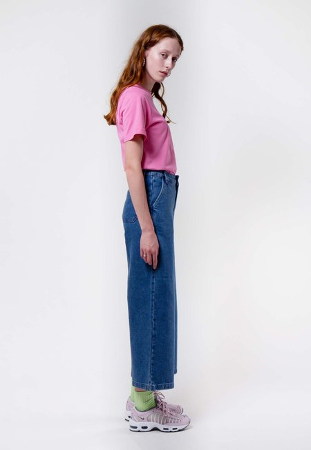 Lazy Oaf denim Work Pants - blue