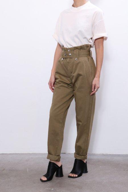 Overlover Jesse Cotton Pants - Olive