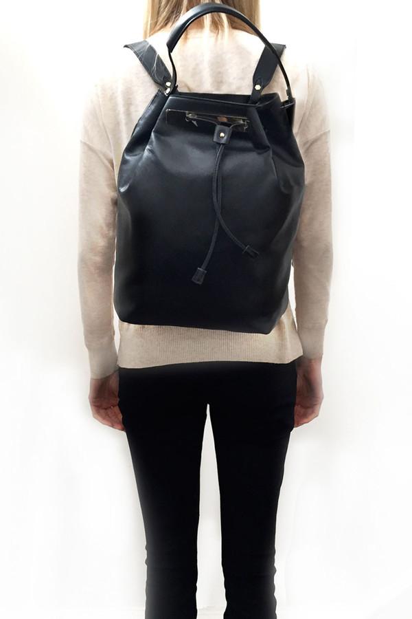 Ella Valentine Josie Leather Backpack
