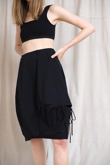 LOCLAIRE Plankton Skirt - Black