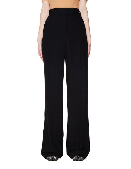 Ann Demeulemeester Black Wool Trousers