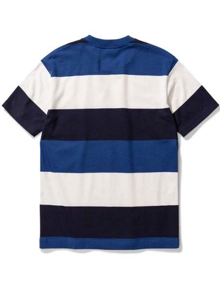Norse Projects Johannes Border T-Shirt - Twilight Blue