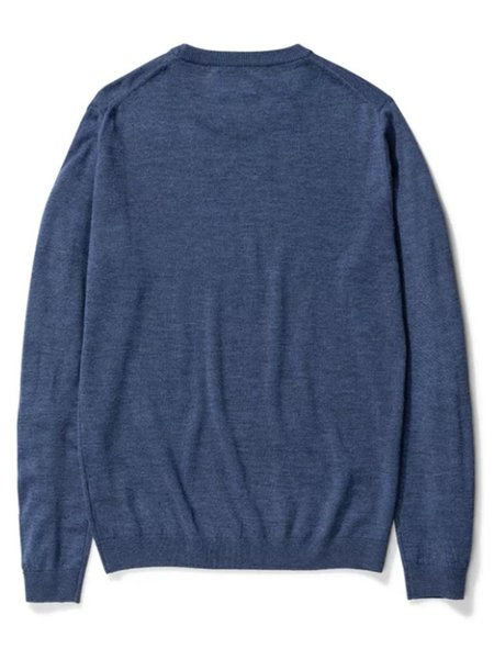 Norse Projects Sigfred Sweater - Scoria Blue