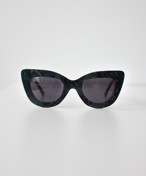 Dusen Dusen Malachite Triangle Sunglasses