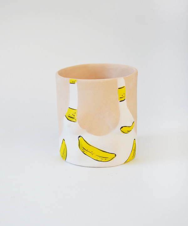 Group Partner Banana Girl Pot
