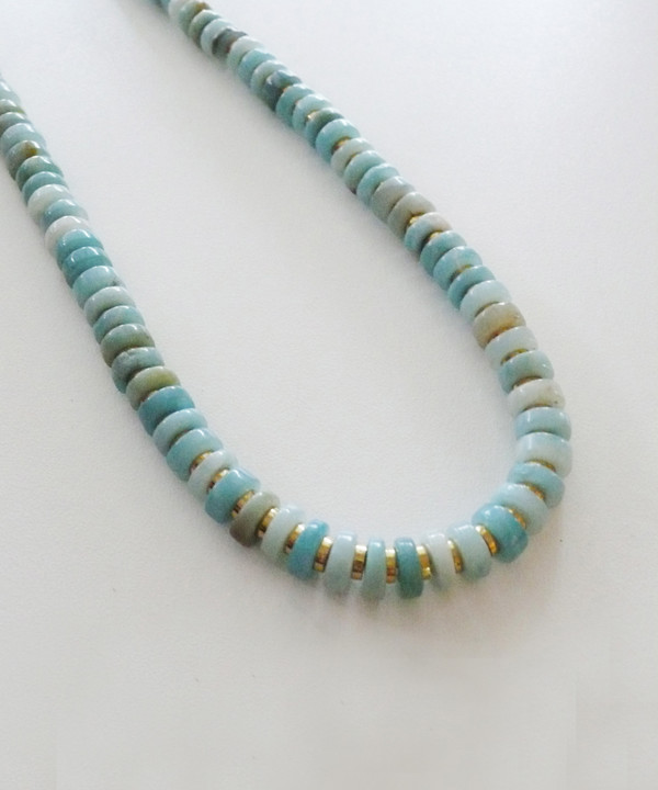 Growing Jewelry Infinite Amazonite Necklace