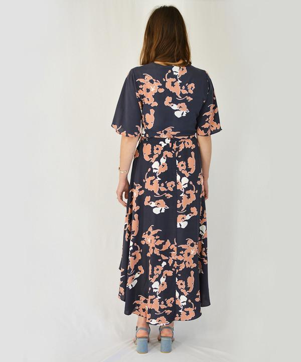 Just Female Leaf Wrap Dress