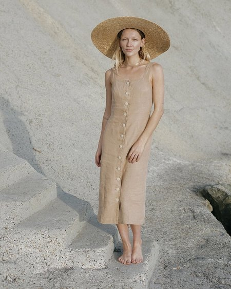 harly jae Provence dress - Taupe