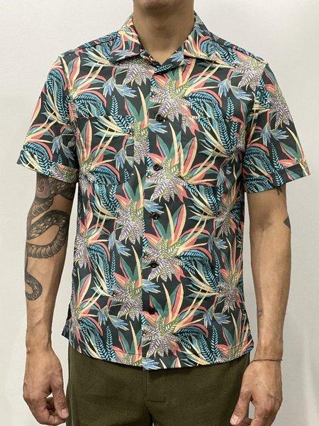 Monitaly Vacation Shirt - Night Jungle Print