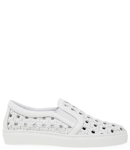 Madison Maison Woven Sneakers - White