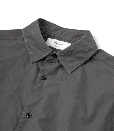 Sandinista MFG Military Bio Twill Shirt - Vintage Black