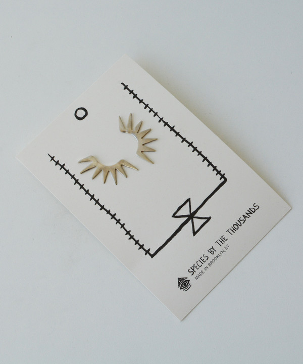Species by the Thousands Sun Spike Studs