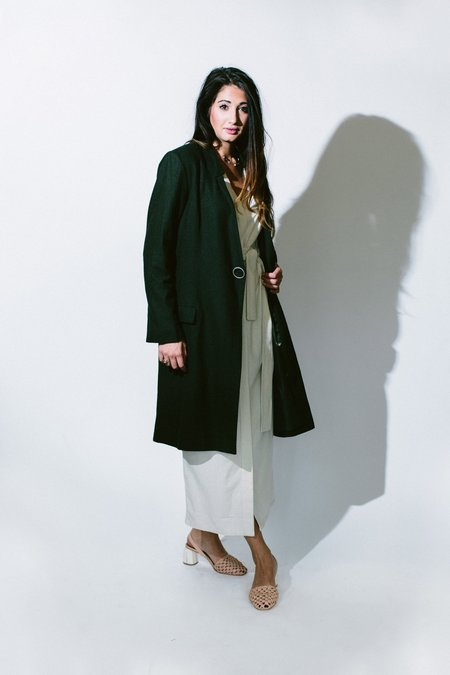 Third Form Sergeant Coat - Forest Green