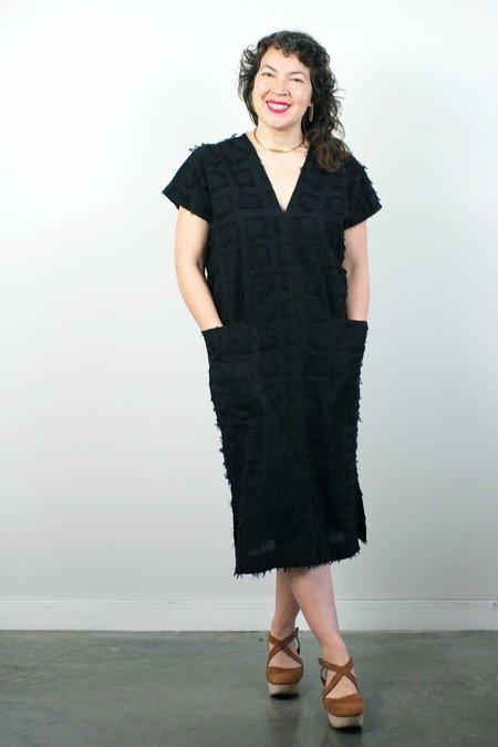 Corey Lynn Calter Jade Pocket Dress - Black