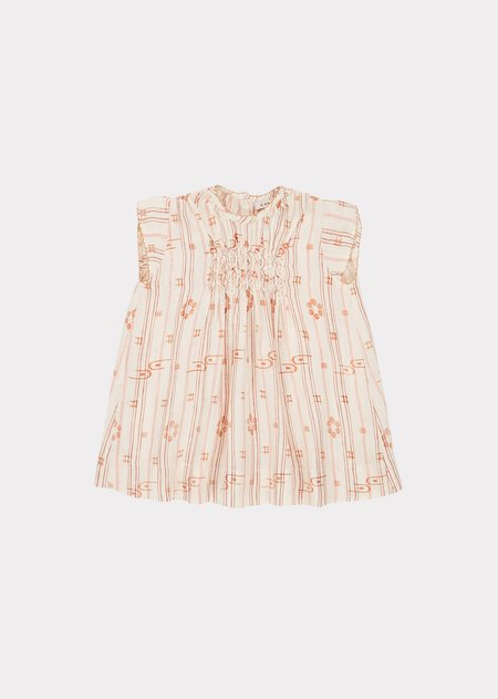 Kids Caramel Clapham Dress - Rose Tan