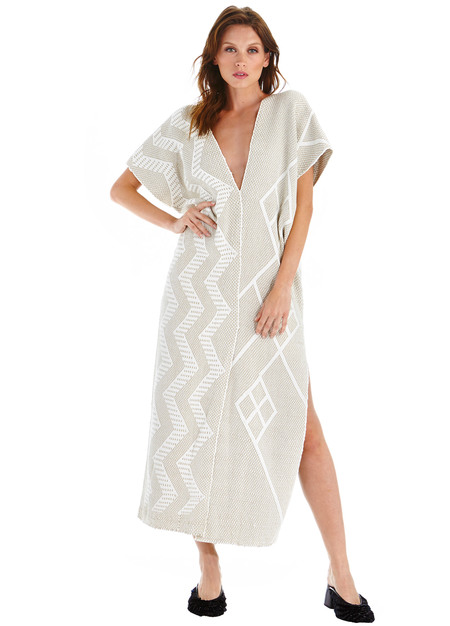 Von Textile Two Panel Dress