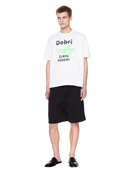 Junya Watanabe Cotton Printed T-Shirt - White