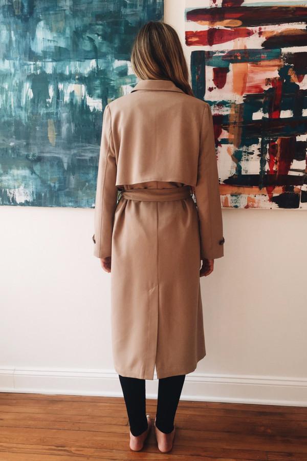 Ganni Brown Coat