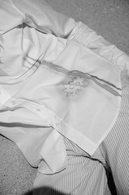 Ryder Jones x Sherie Muijs Shirt No. 06 - White