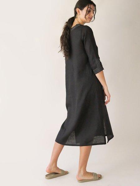 Erica Tanov maeve dress - black
