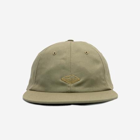 Battenwear Field 6-Panel Cap - Khaki Twill