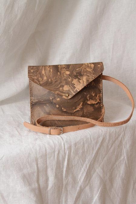 Molly Virginia Made Belt Pack - Black / Tan