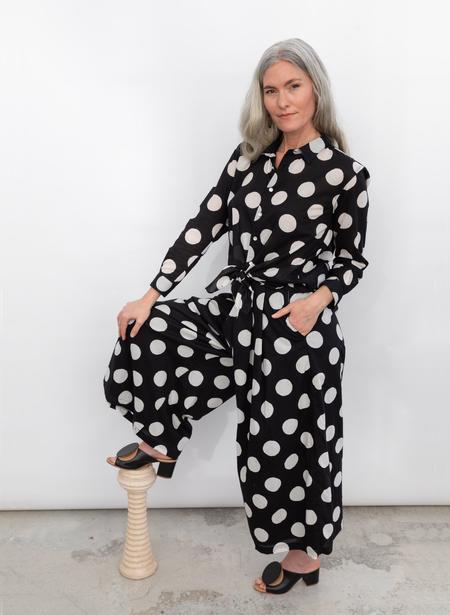 Seek Collective Savista 2.0 Pants - black polka dot