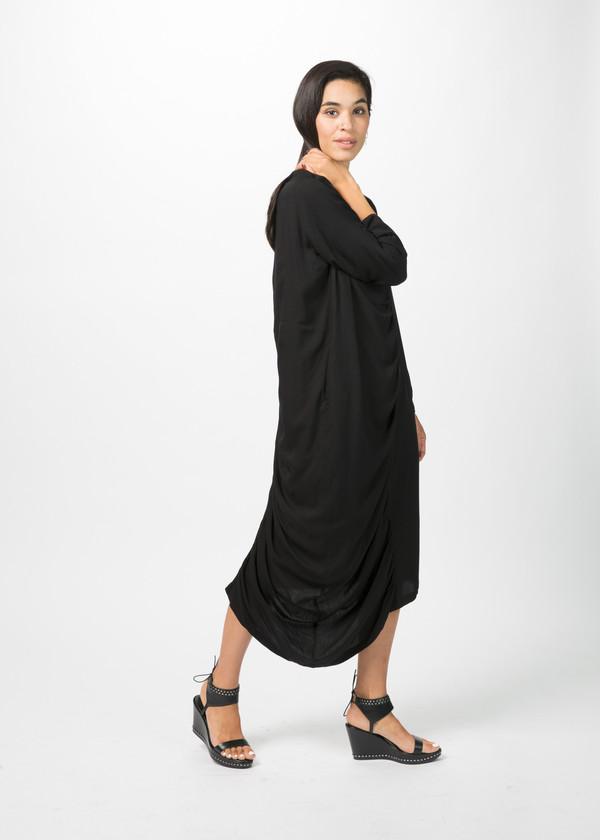 Nocturne #22 Ruched Center Seam Dress
