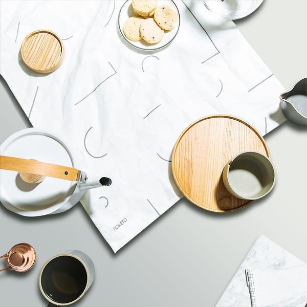 Poketo : 'Lines' Tea Towel Set