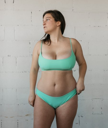 The Saltwater Collective Ava Bottom - Seafoam