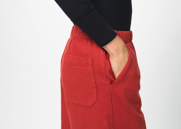 Labo.Art Elle Cropped Wide Leg Pant