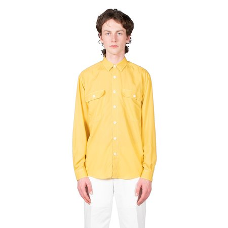Schnayderman's Boxy Tencel Shirt - Yellow