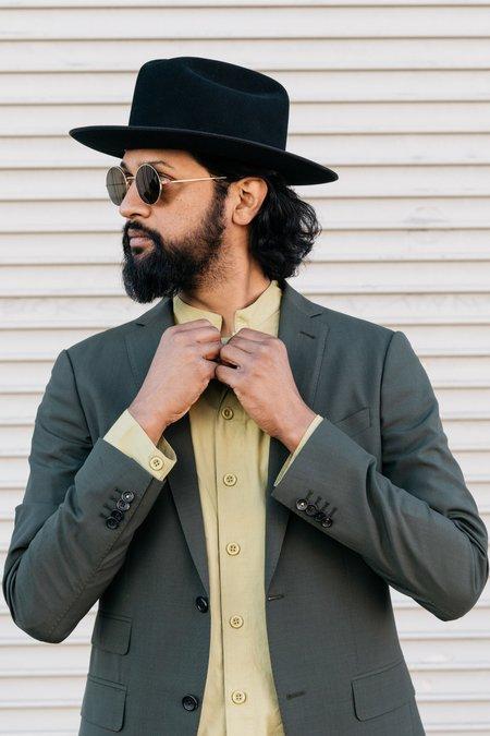 Dushyant Asthana - Garment Dyed Jaipur Tunic in Khaki