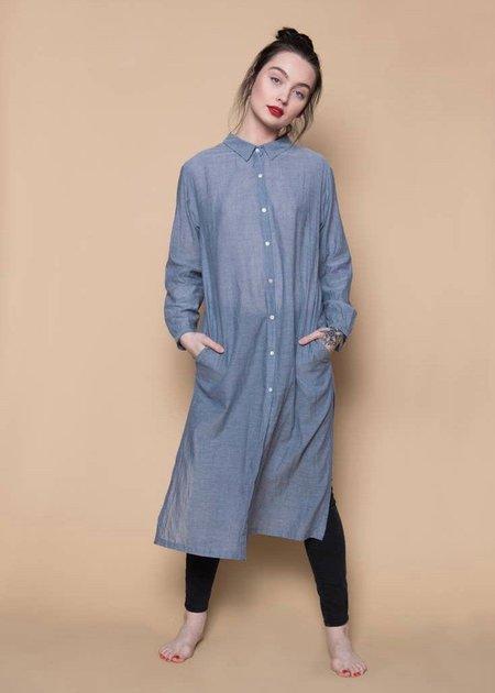 Patrizia Montanari Chambray shirt dress