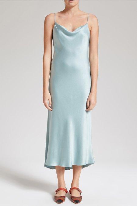 Maliparmi Slip Dress - Deep Sea Blue
