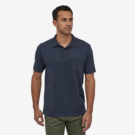 Patagonia Organic Cotton Lightweight Polo - Forge Grey