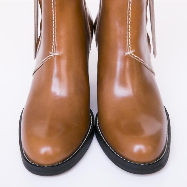 acne studios pistol chestnut boot