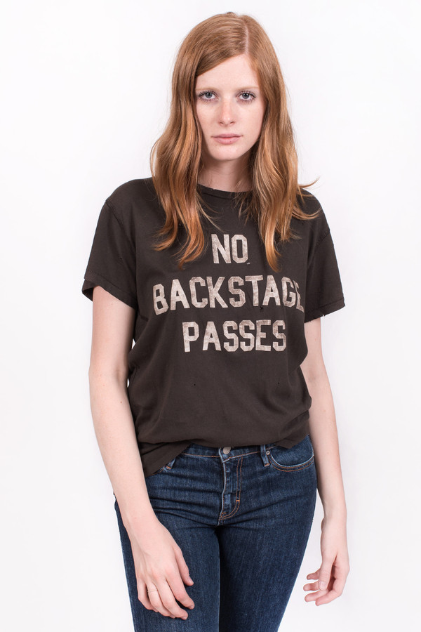 Madeworn No Backstage Passes T-shirt