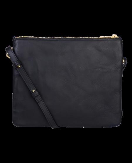 The Horse Double Pouch Bag - Black