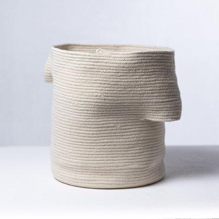 Amelia Samari Billow Basket - Natural Medium