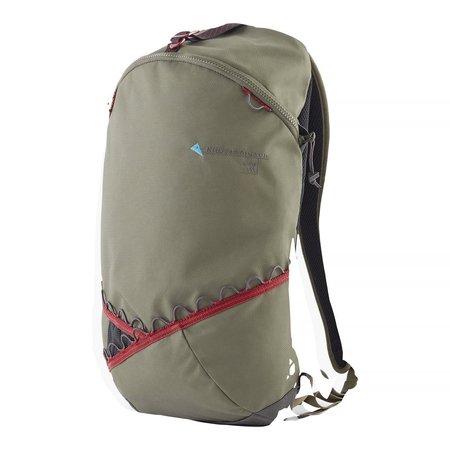 Klattermusen Bure Backpack 15L - DUSTY GREEN/BURNT RUSSET