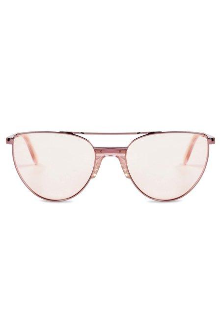 Vow London Kali Glasses - Pink Glitter
