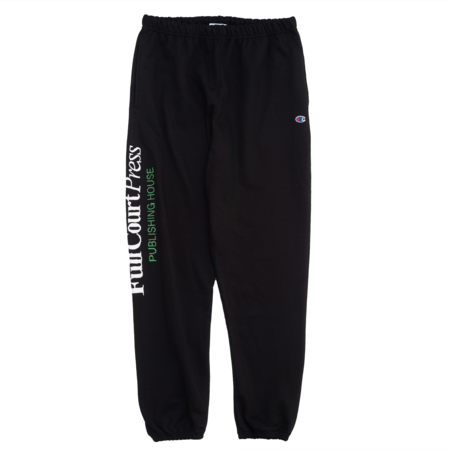 Full Court Press Logo Sweatpants - Black