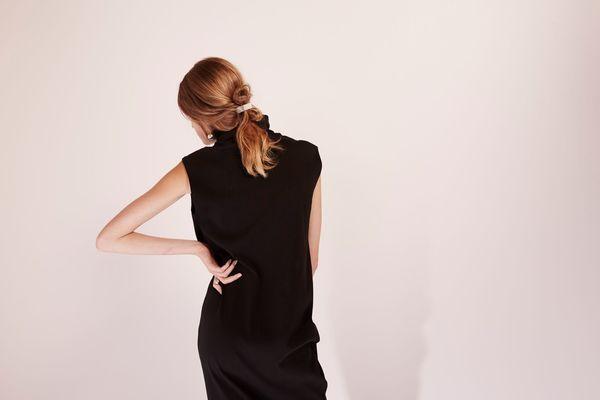 KOWTOW Rib Roll Neck Dress
