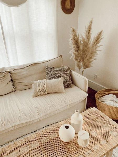 Territory Nube Lumbar Pillow - Cream
